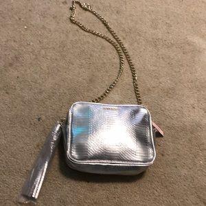 Victoria secret cross body chain purse .